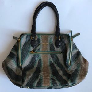 || LIEBESKIND || ANTHRO snakeskin embossed handbag